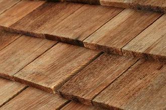 Tuiles en bois