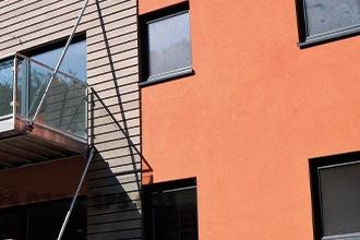 Enduits et profilés de finition pour façades
